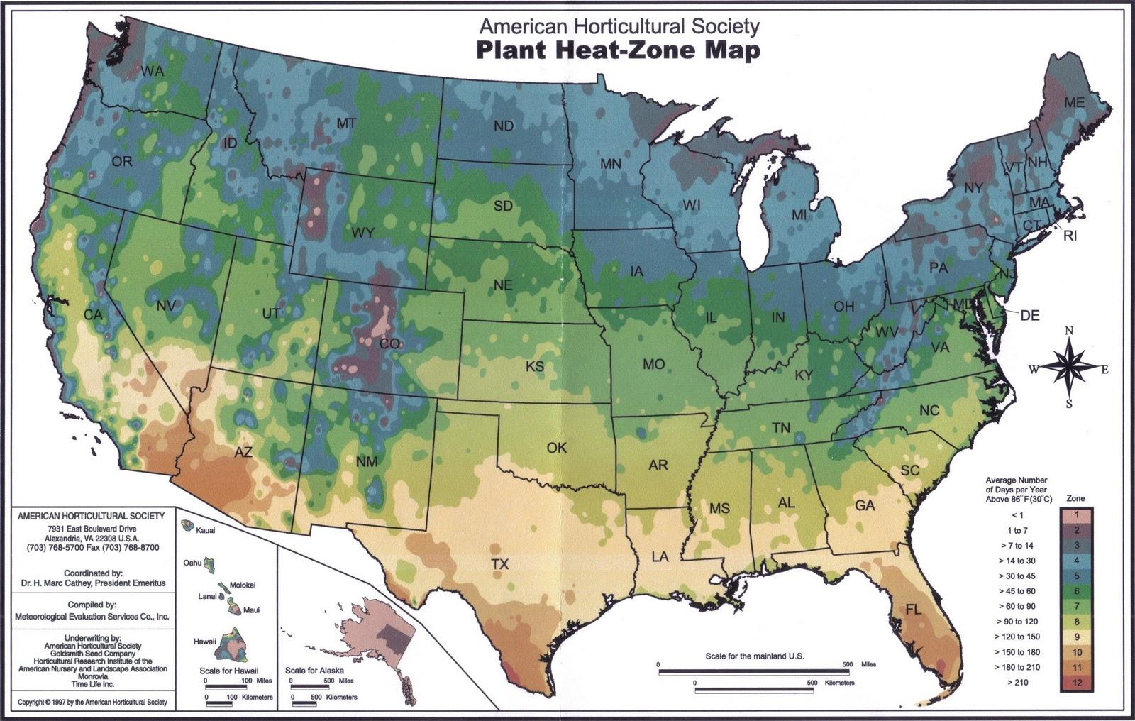 photos of heat index zones