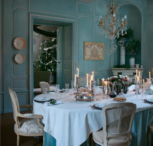 Dining Room In French: BOISERIE & C.: Natale In Stile Gustaviano