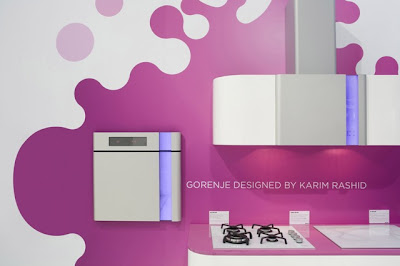 Kitchen delight: Gorenje designed by Karim Rashid