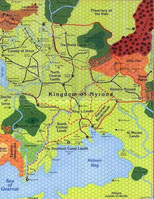 Maps of greyhawk marklands gumiabroncs Images