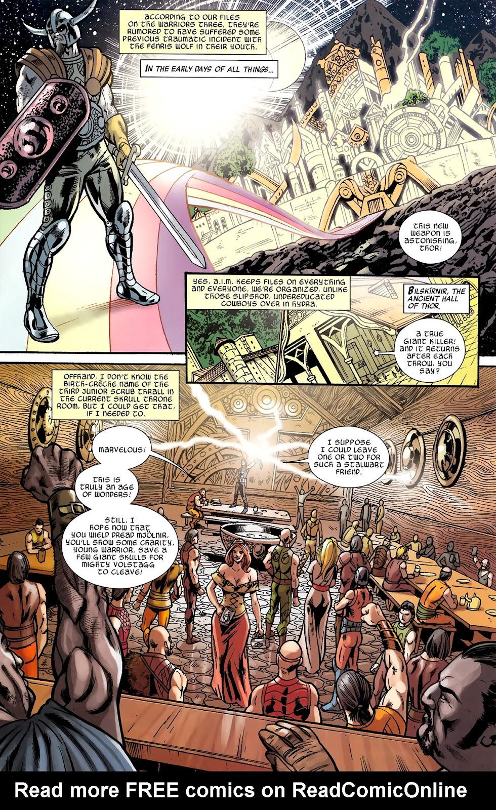 Warriors Three Issue #2 #2 - English 8