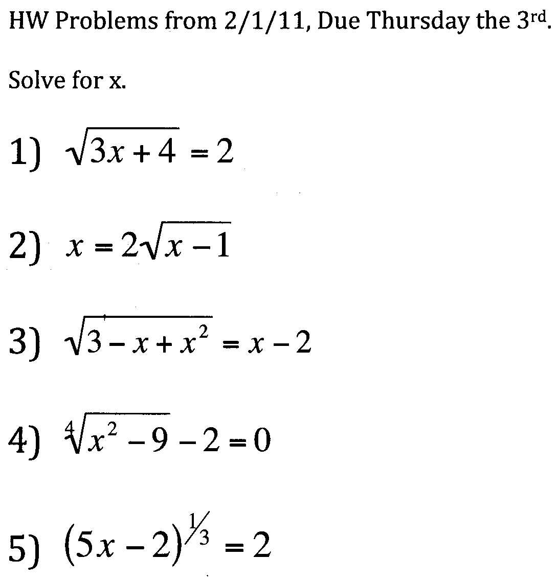 Mr Suominen S Math Homepage February