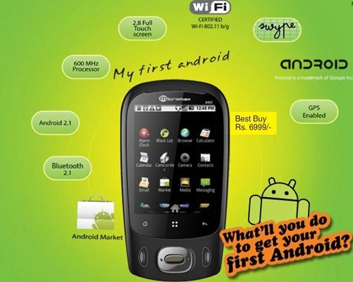 My First Micromax Android Phone - What's your Story