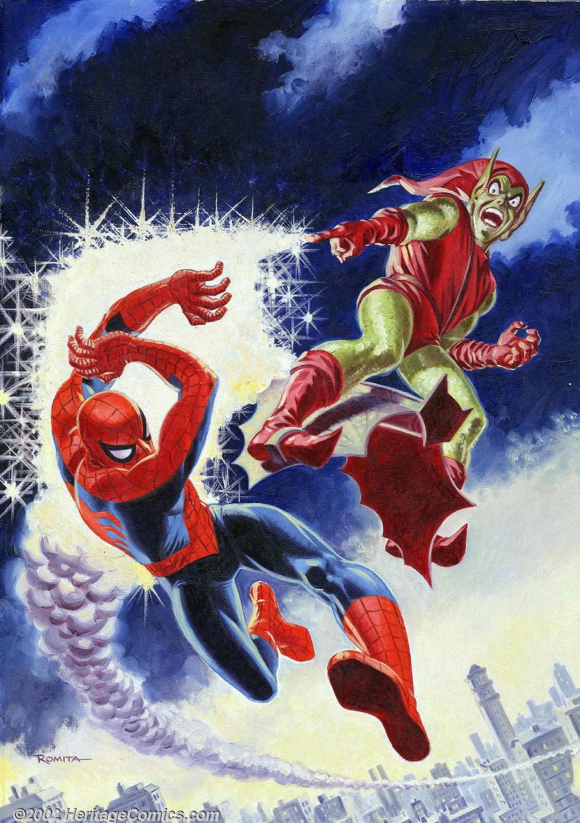 Original Art Stories John Romita Marvel Giant Nuff Said