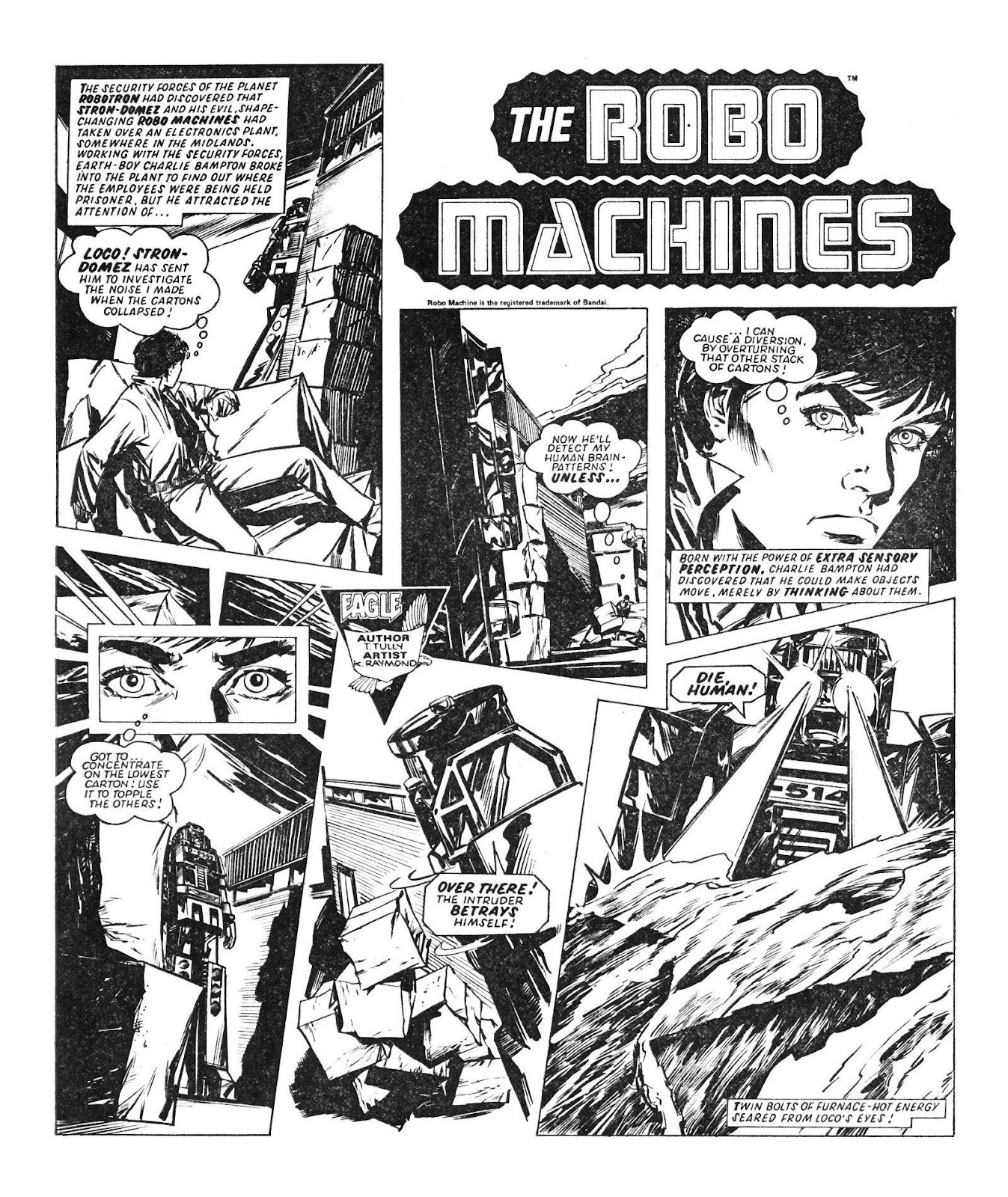 Read online Robo Machines comic -  Issue # TPB - 57