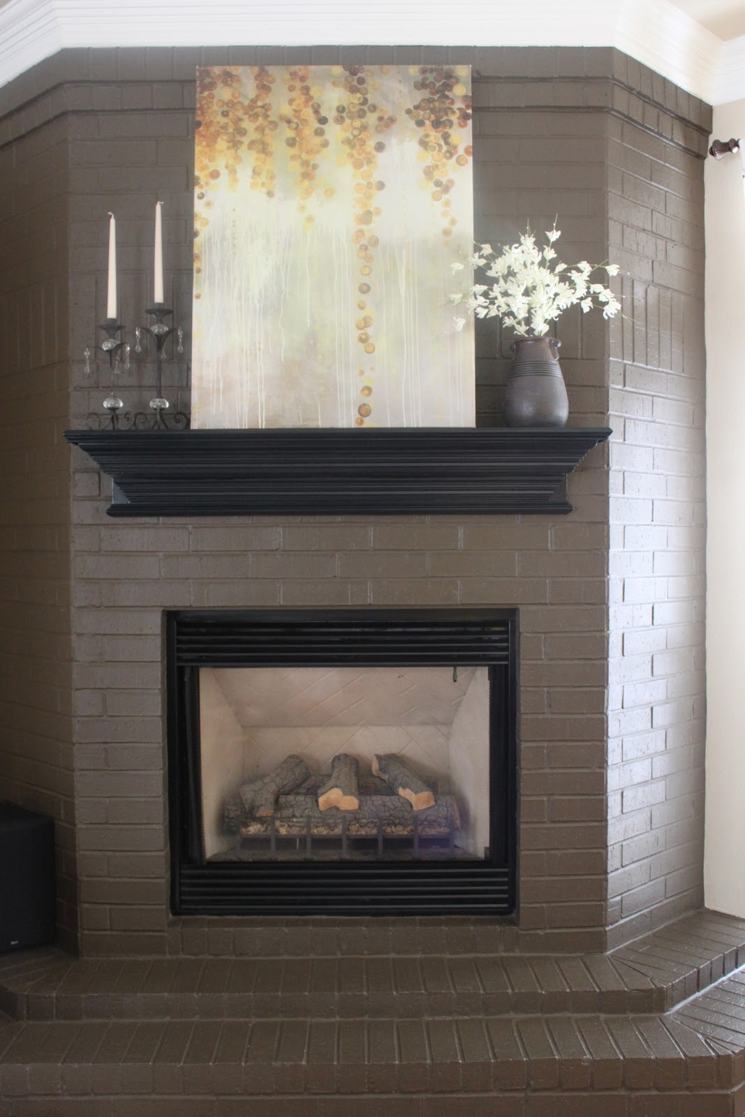 Fireplace Finishes Ideas Crafty Texas Girls Paint Colors Crafty Texas Girls