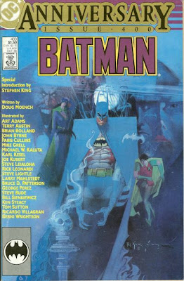 No Frank Miller? Ah, this was one month before The Dark Knight Returns...
