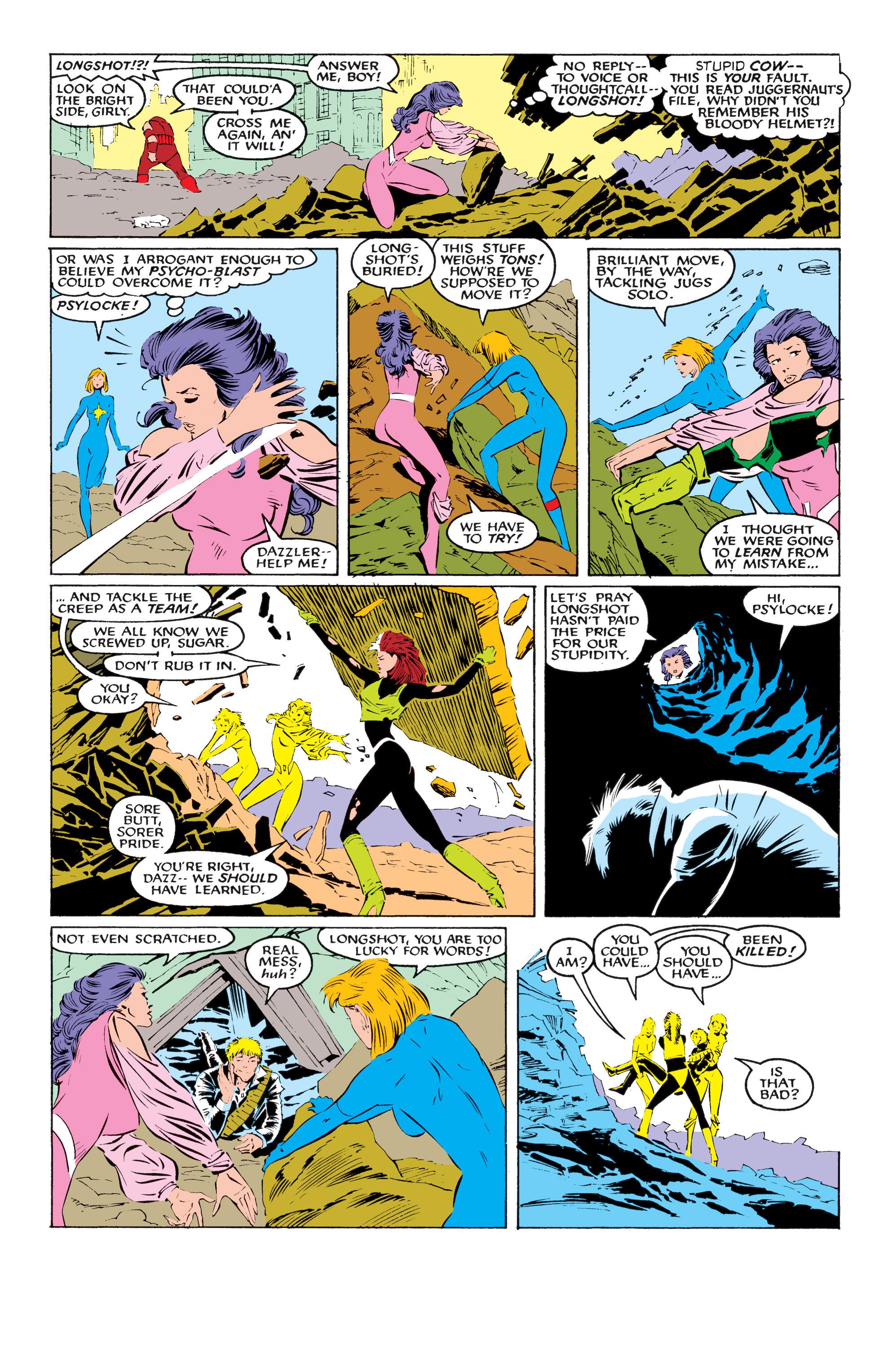 Read online Uncanny X-Men (1963) comic -  Issue #218 - 16