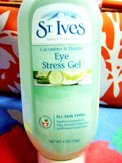 st. ives cucumber elastin eye stress gel with tresemme at 1 b kota kinabalu sabah