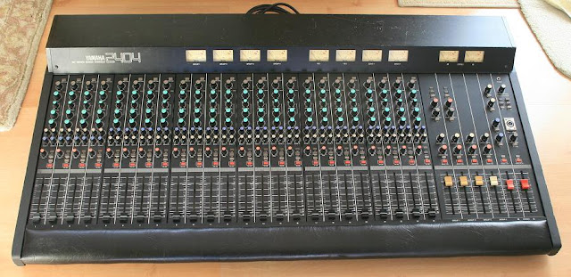 greg youngman music for sale yamaha mc 2404 24 channel audio mixer. Black Bedroom Furniture Sets. Home Design Ideas