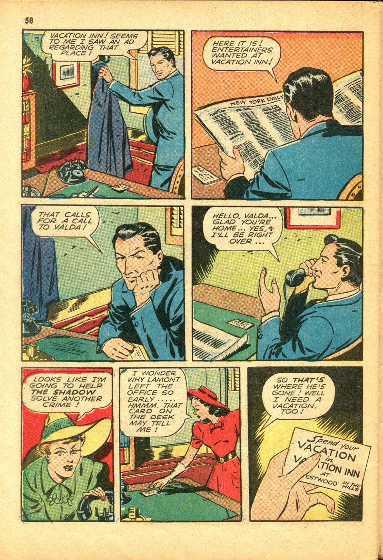 Read online Shadow Comics comic -  Issue #30 - 58