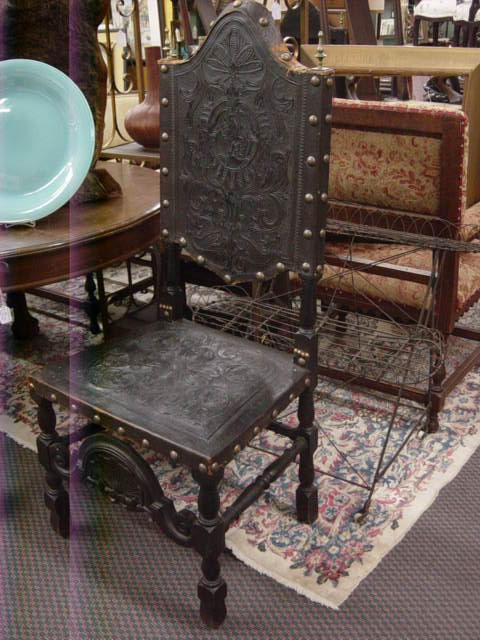 Newport Avenue Antiques: SET OF 6 ANTIQUE SPANISH COLONIAL ...