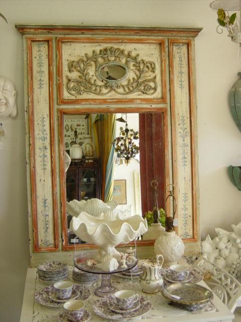 Newport Avenue Antiques Large Decorative Painted Italian