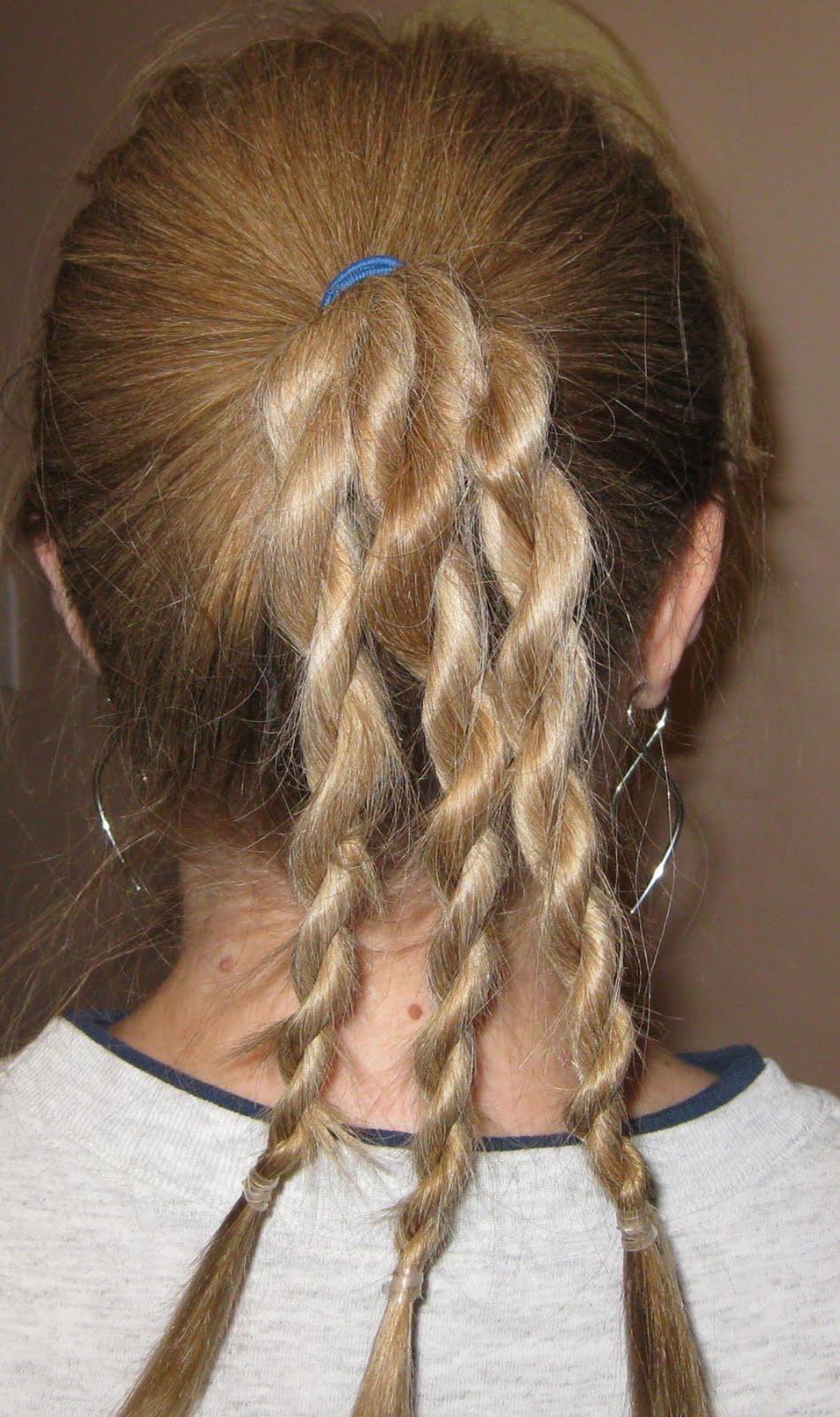 Rope Braid Hair Instructions