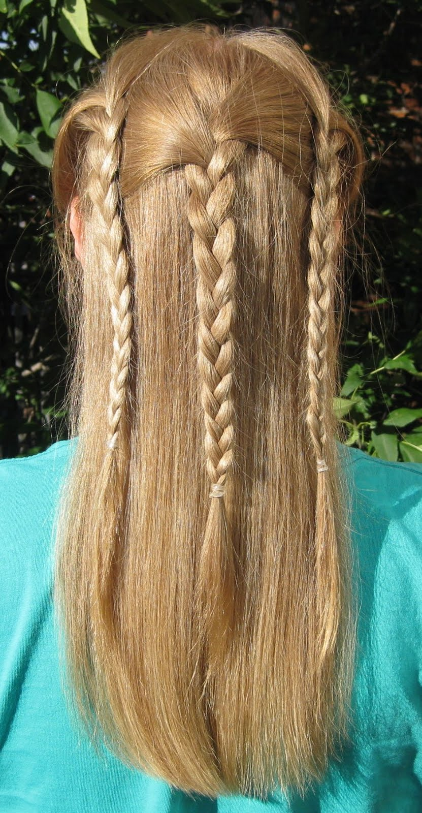 my bumpy middle aged long hair journey: hairstyle how-to: 3 braid