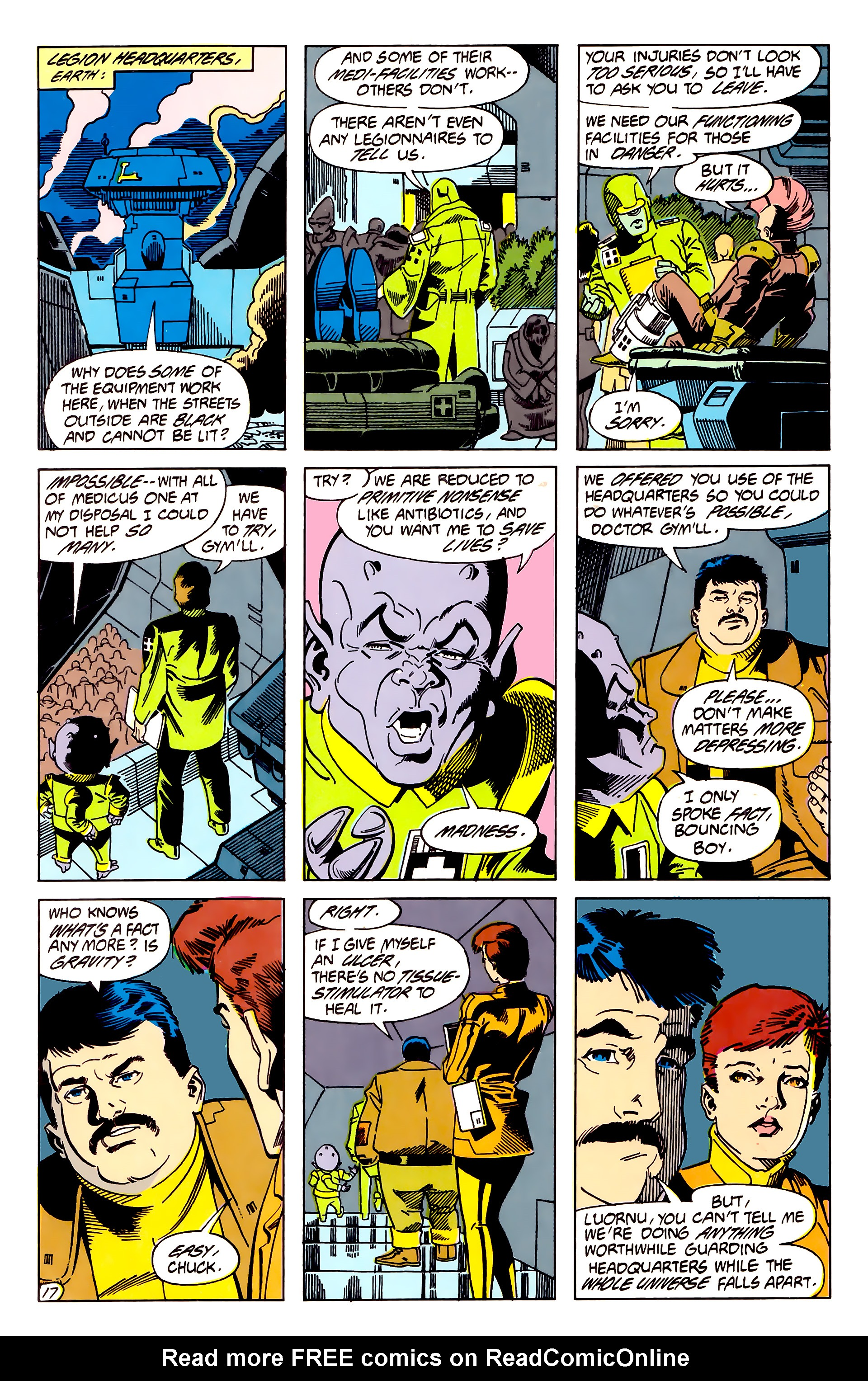 Legion of Super-Heroes (1984) 62 Page 17