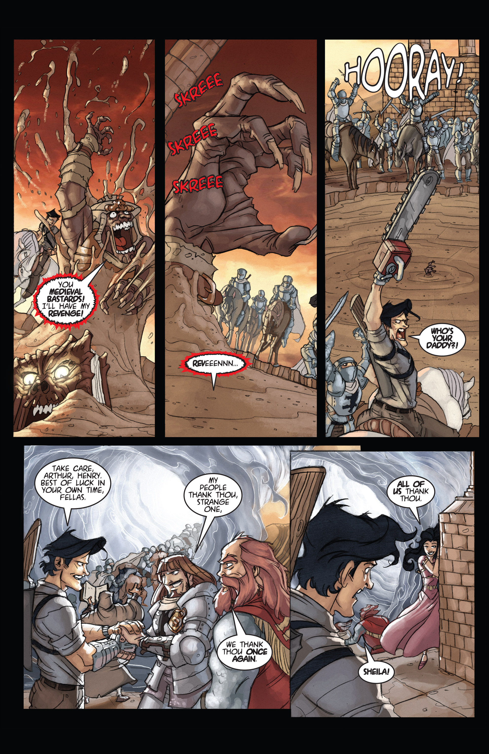 Read online Army of Darkness: Ashes 2 Ashes comic -  Issue #4 - 23