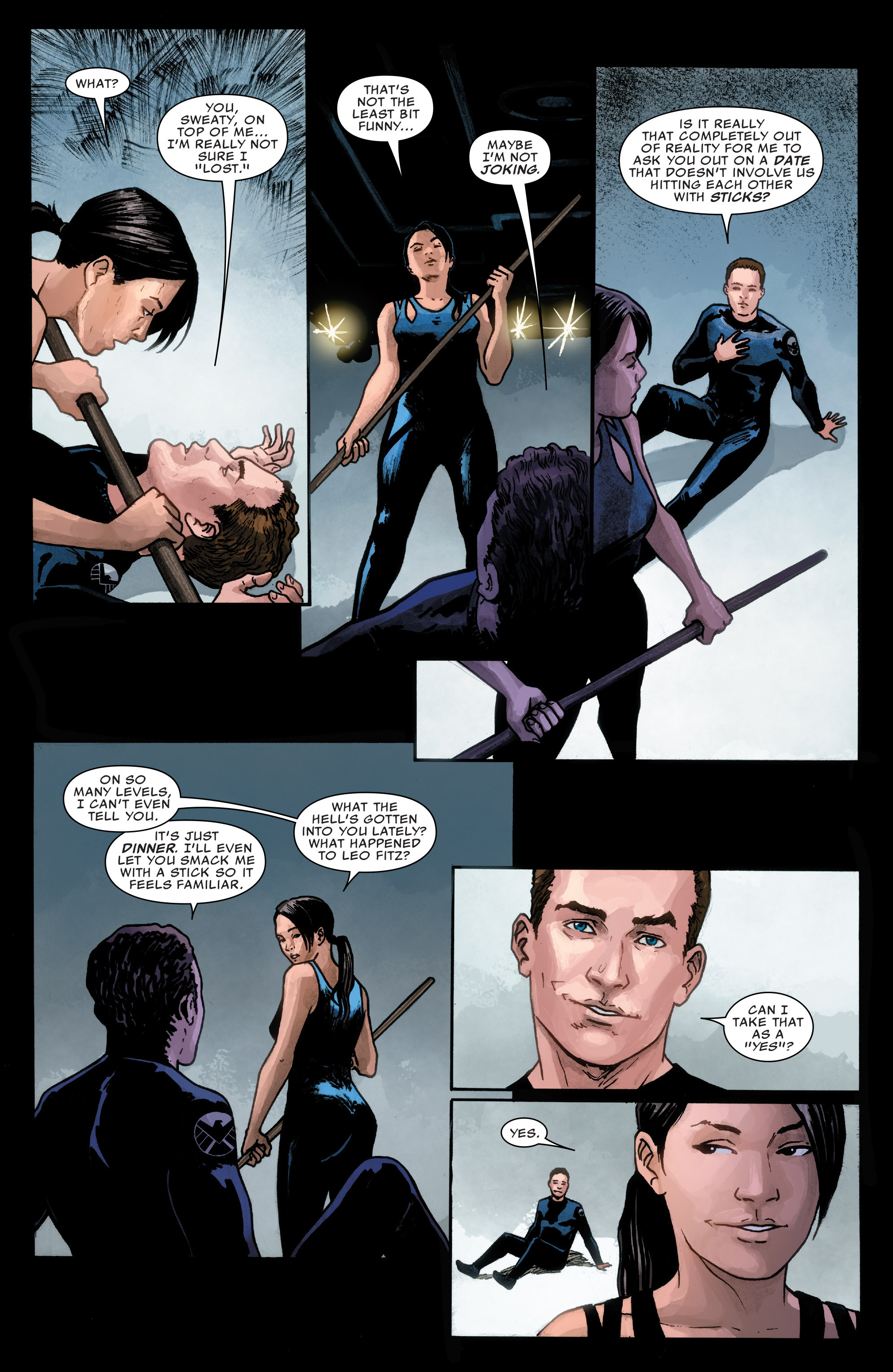 Read online Agents of S.H.I.E.L.D. comic -  Issue #1 - 14