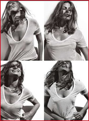 Eva Mendes Hot Magazine Scans | Eva Mendes Allure Magazine Scans