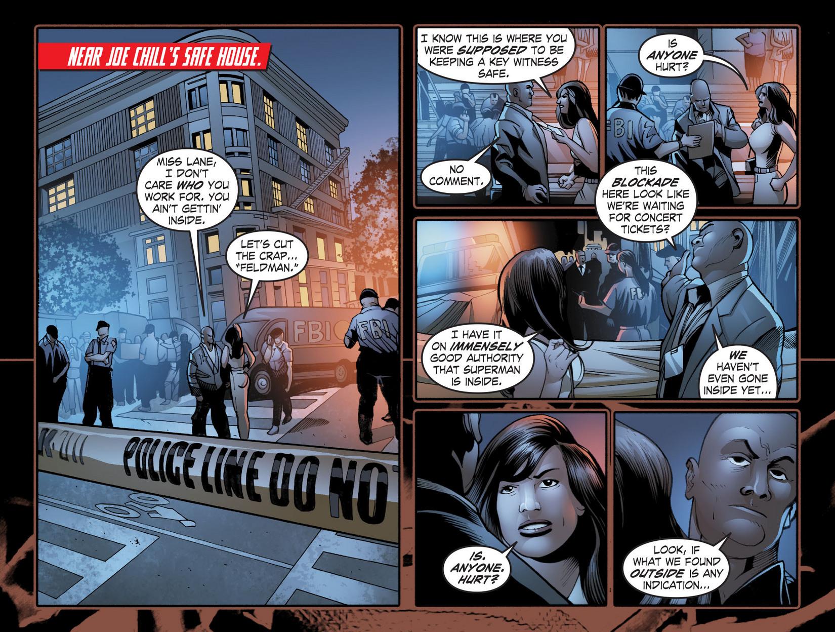 Read online Smallville: Season 11 comic -  Issue #20 - 7