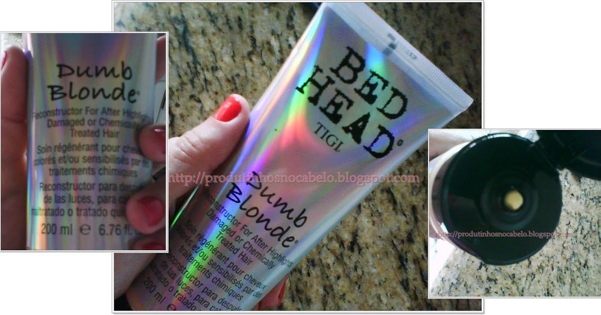 Dumb Blonde Bed Head Conditioner Reviews