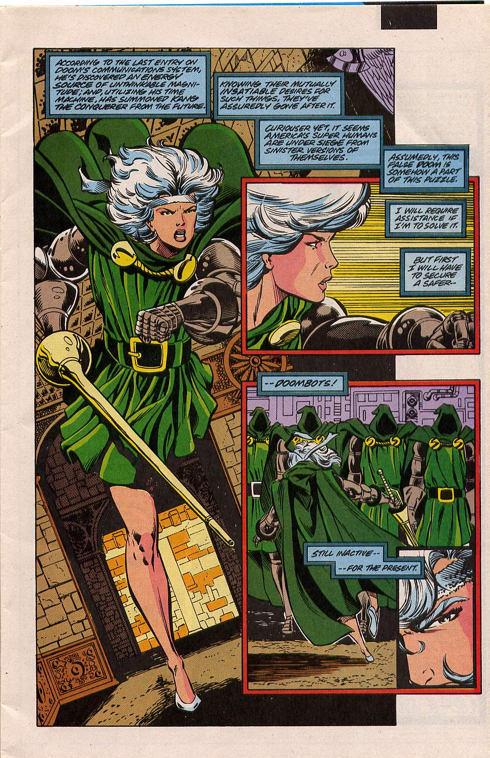 Read online Silver Sable and the Wild Pack comic -  Issue #5 - 3