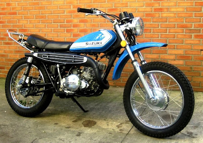 Barry's Bikes: 1972 Suzuki TS-250: Last Look