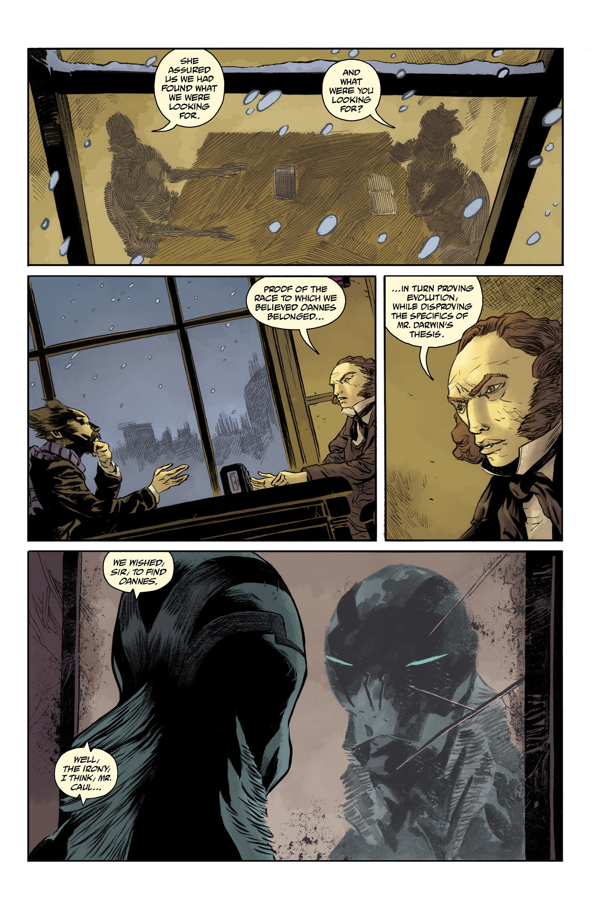 Read online Abe Sapien comic -  Issue #33 - 11