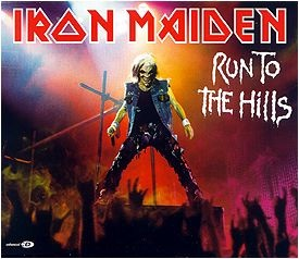 Portada Iron Maiden run to the hills live