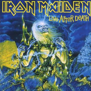Portada Iron Maiden Live after death