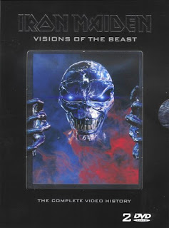Portada Iron Maiden visions of the beast