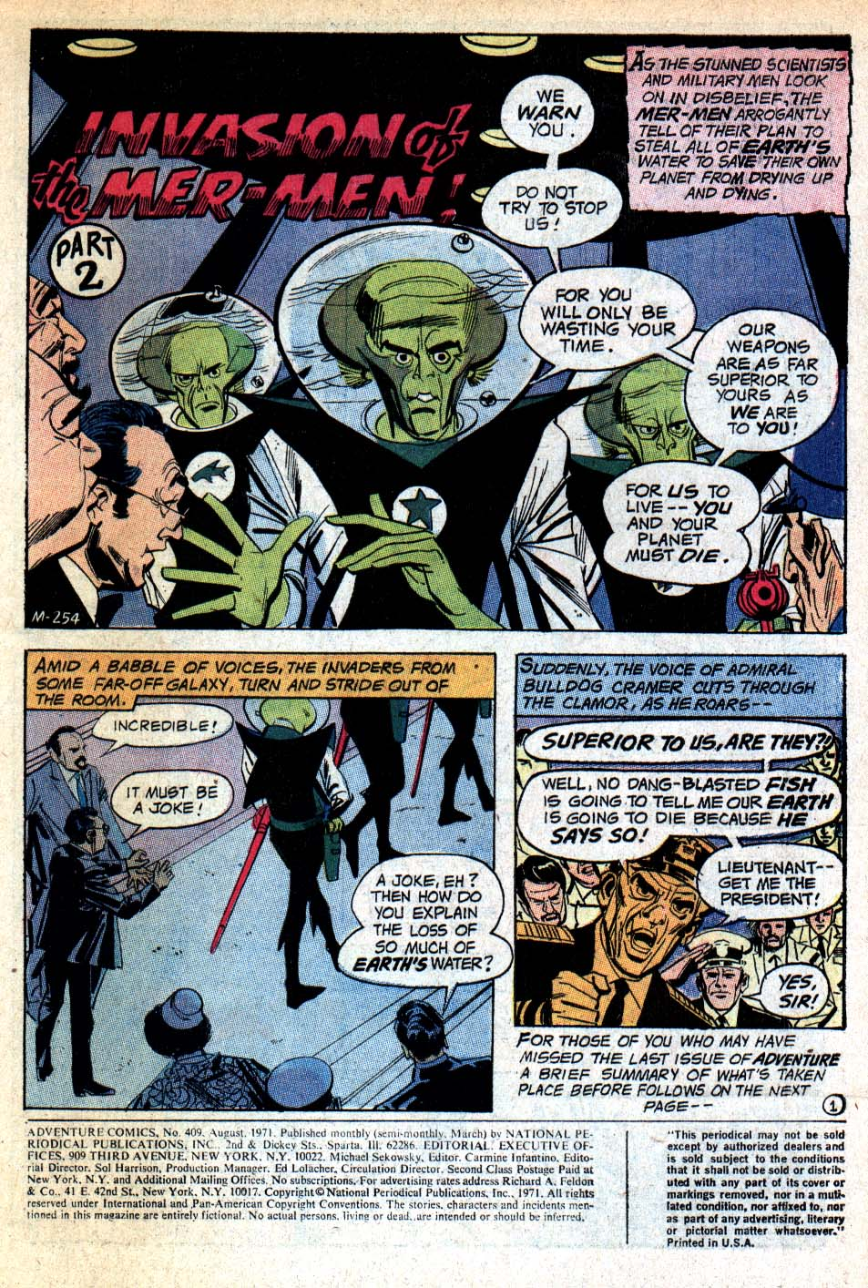 Read online Adventure Comics (1938) comic -  Issue #409 - 3