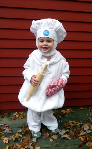 How Much Is A Mile >> Gwenny Penny: Pillsbury Doughboy Costume