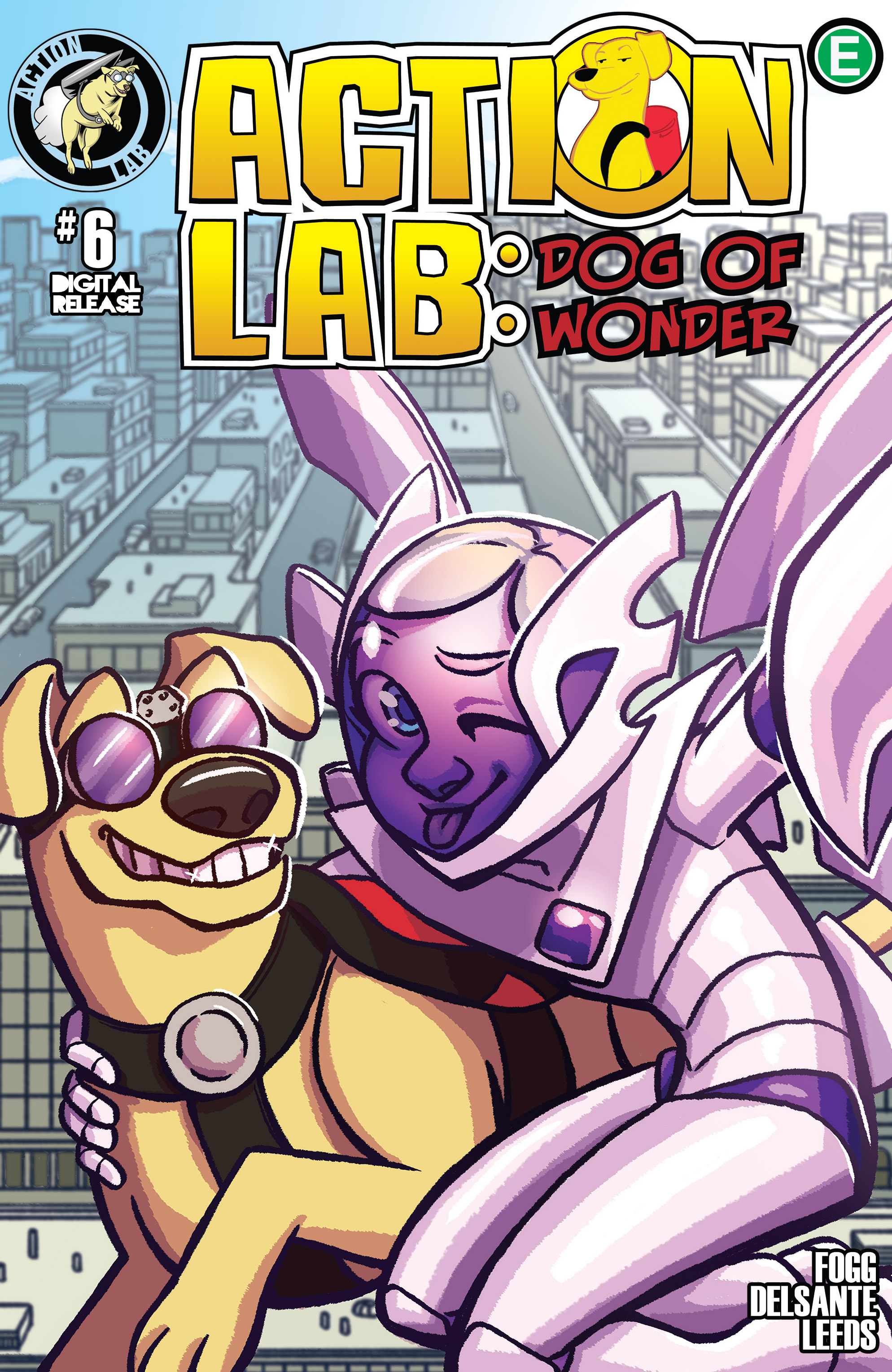 Read online Action Lab, Dog of Wonder comic -  Issue #6 - 1