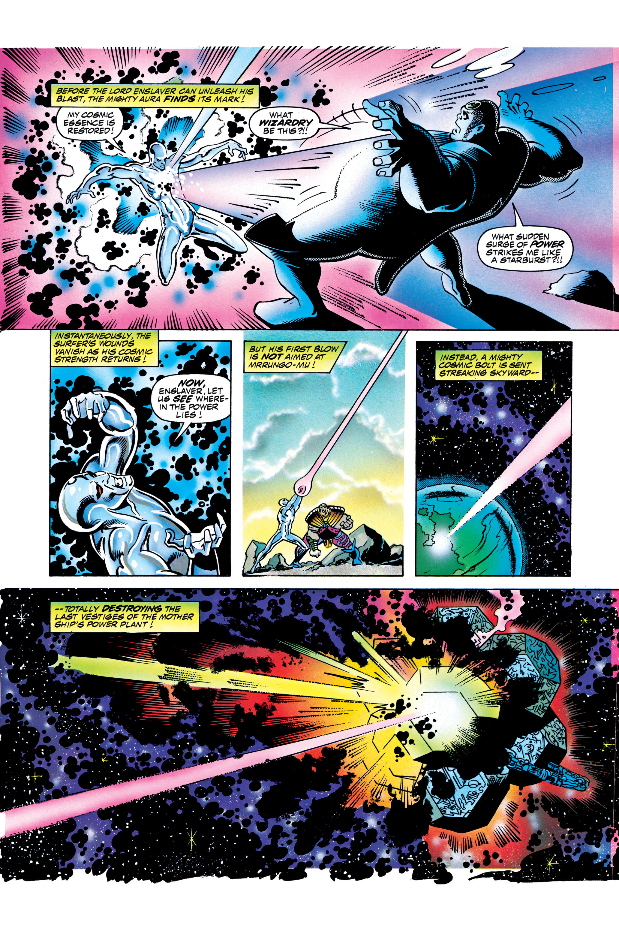 Read online Silver Surfer: Parable comic -  Issue # TPB - 122