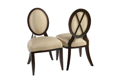 Round Back Upholstered Dining Chairs Sevenstonesinc