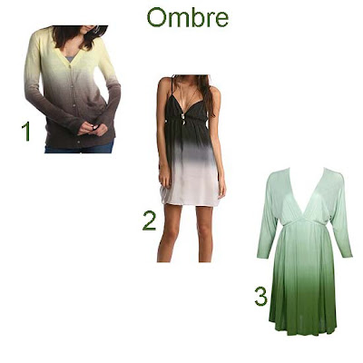 ombre fashion trend