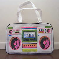 ghetto blaster handbag