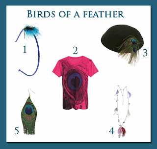 feather fashion trend