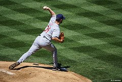 Cleveland Indians Pitcher may be out of play because of a stiff neck  - Photo by WordofMouth FLICKR