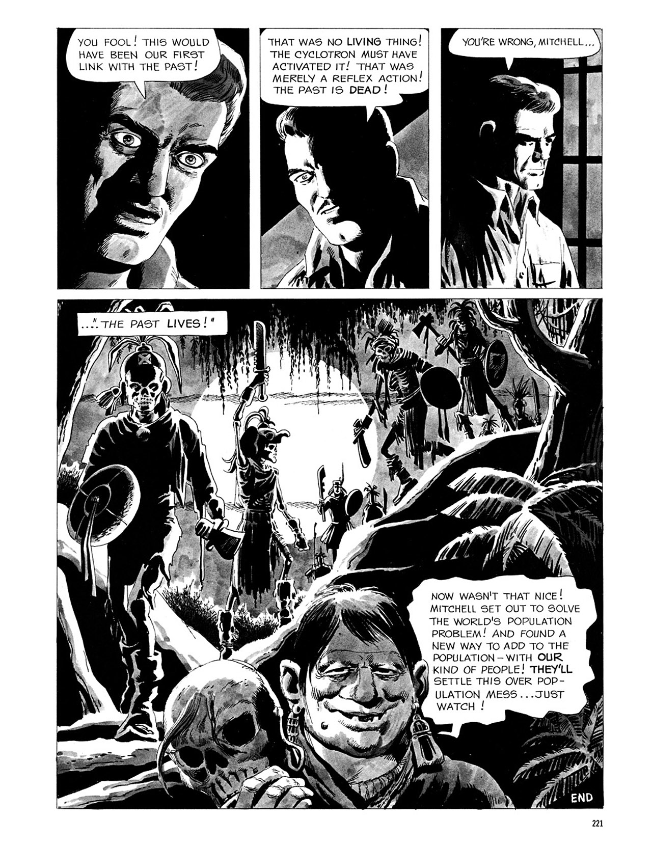 Read online Eerie Archives comic -  Issue # TPB 3 - 222