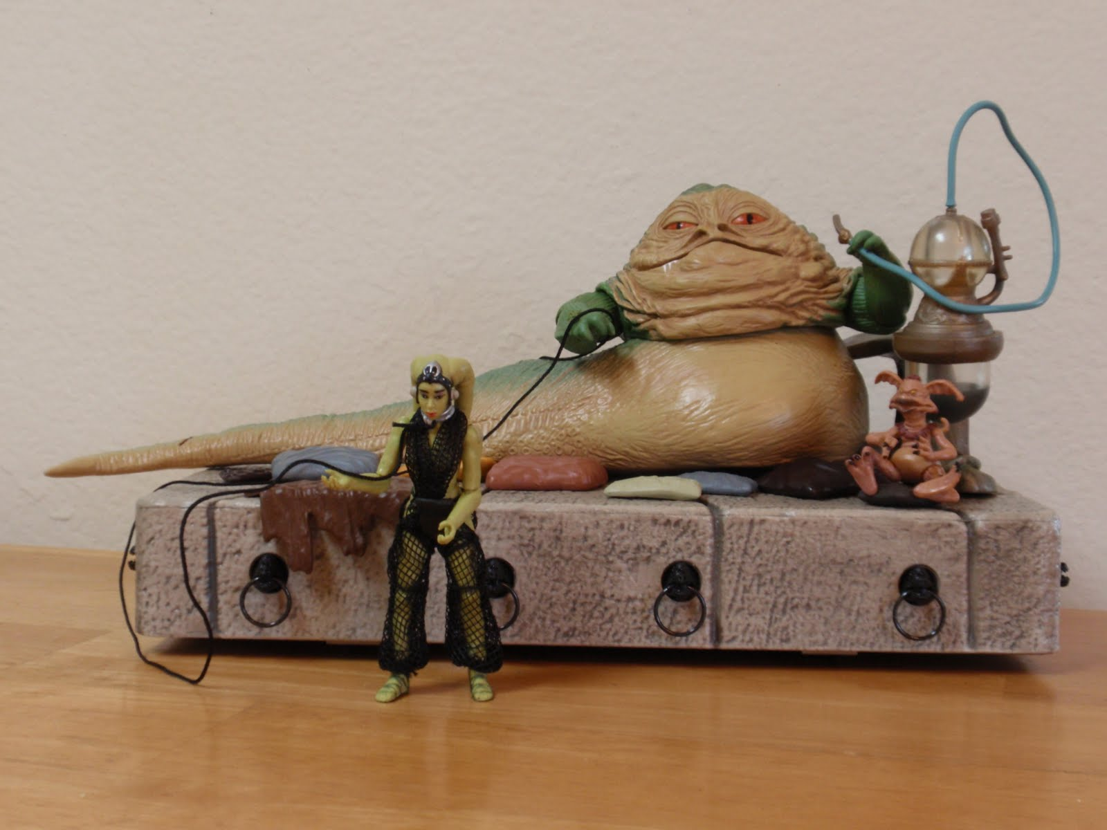 A Year Of Toys 104 Star Wars Jabba S Throne