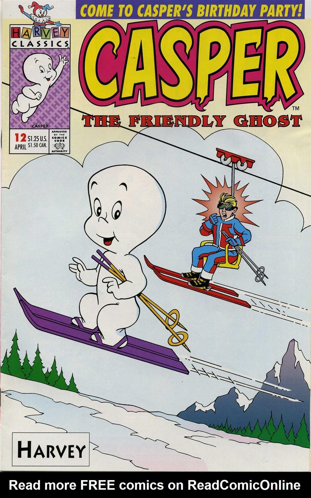 Casper the Friendly Ghost (1991) 12 Page 1