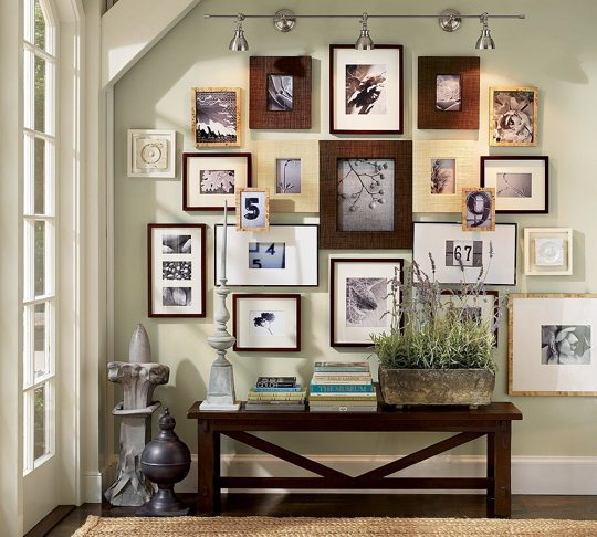 Pottery Barn Picture Wall Gallery: Header: Internet Inspirations: Wall Arrangements And Art