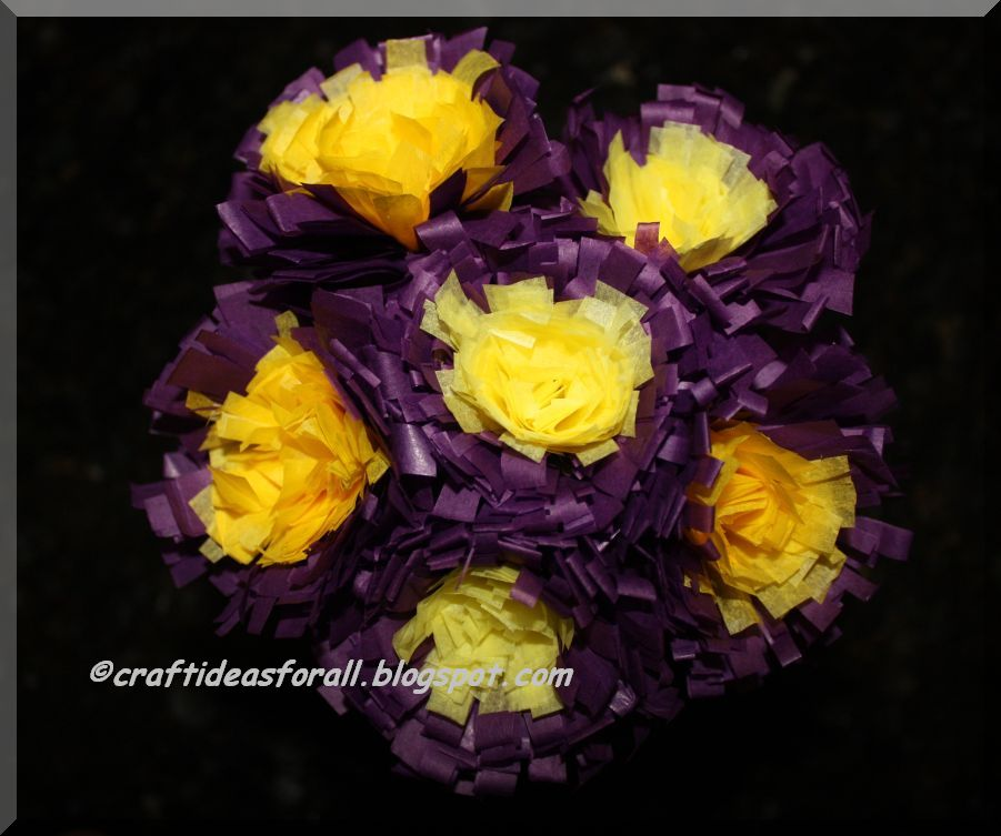 Craft ideas for all tissue paper flowers mightylinksfo