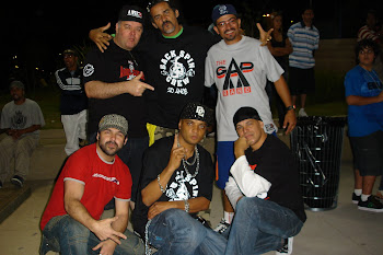25 ANOS BACK SPIN CREW - 2010