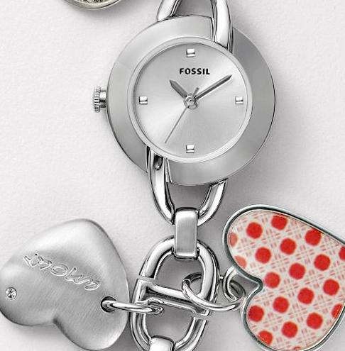 Boutique Malaysia Fossil Charm Watch Es2396