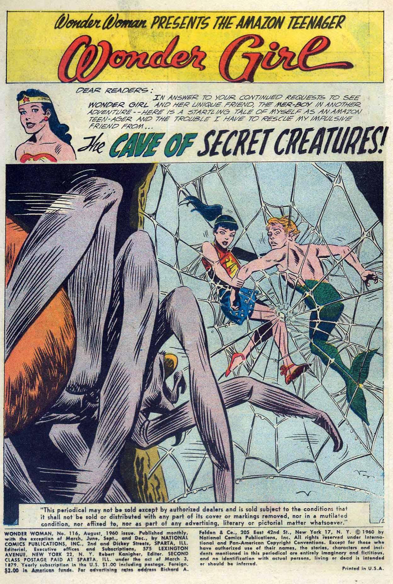 Read online Wonder Woman (1942) comic -  Issue #116 - 3