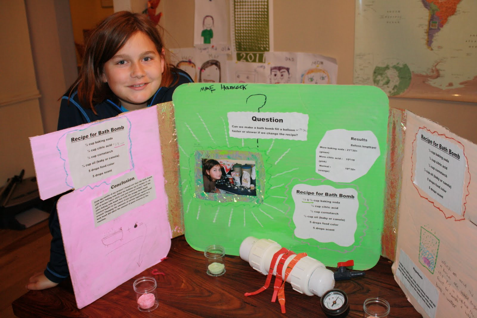 The Agreeable Sisters Science Fair 2011