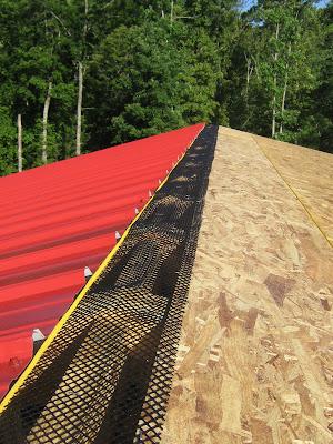Metal Roof Installing Metal Roof Sheathing